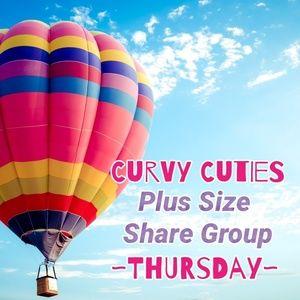 Tops - 6/6 PLUS SHARE GROUP: Curvy Cuties